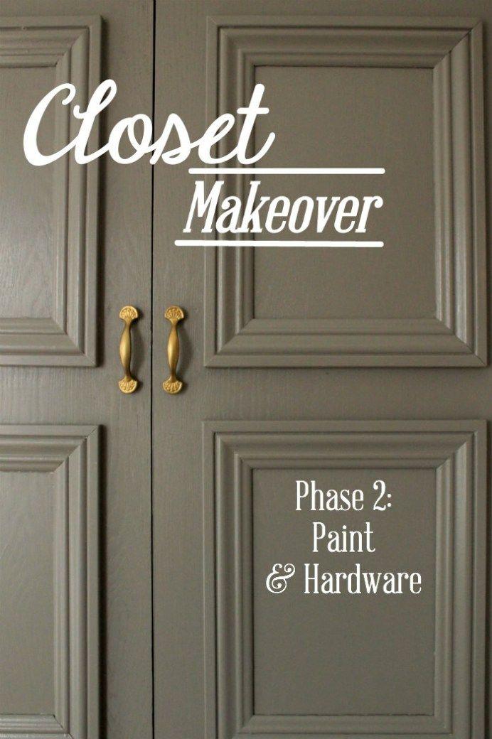 Closet Makeover Phase 2: Paint & Hardware | HowFantasticBlog.com ...