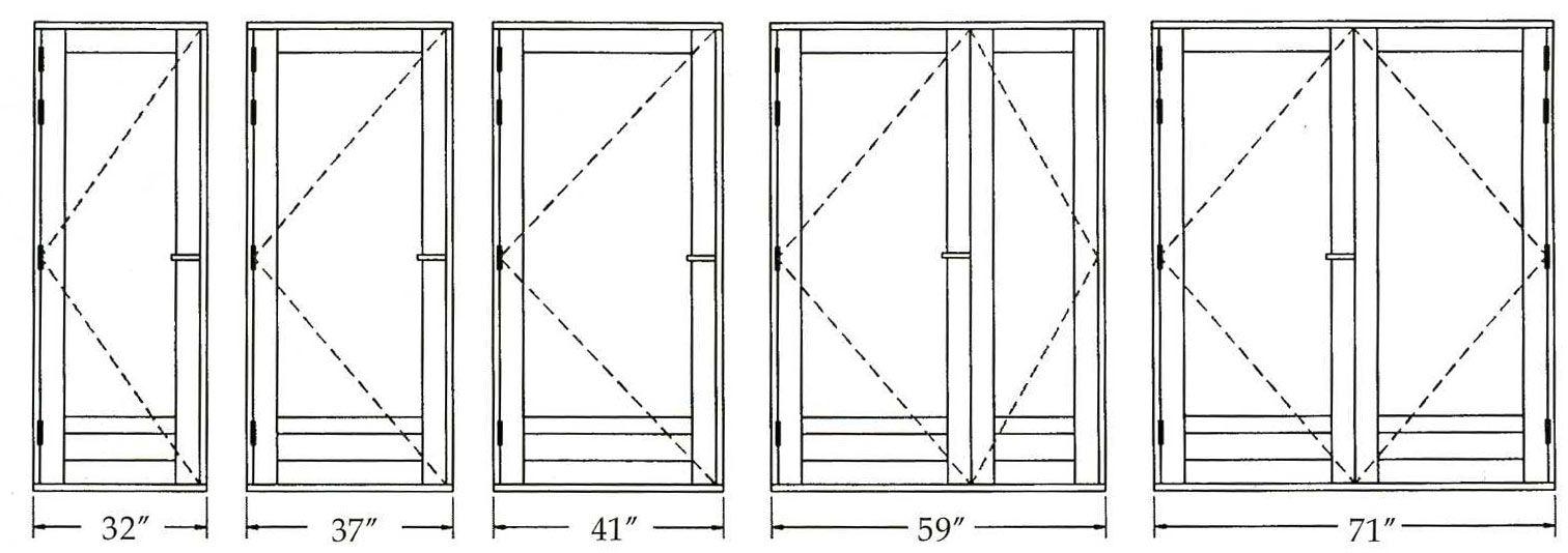 Doors Dimensions Width Standard Interior Door Dimensions