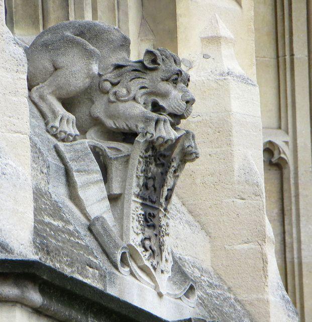 lion gargoyle - Google Search