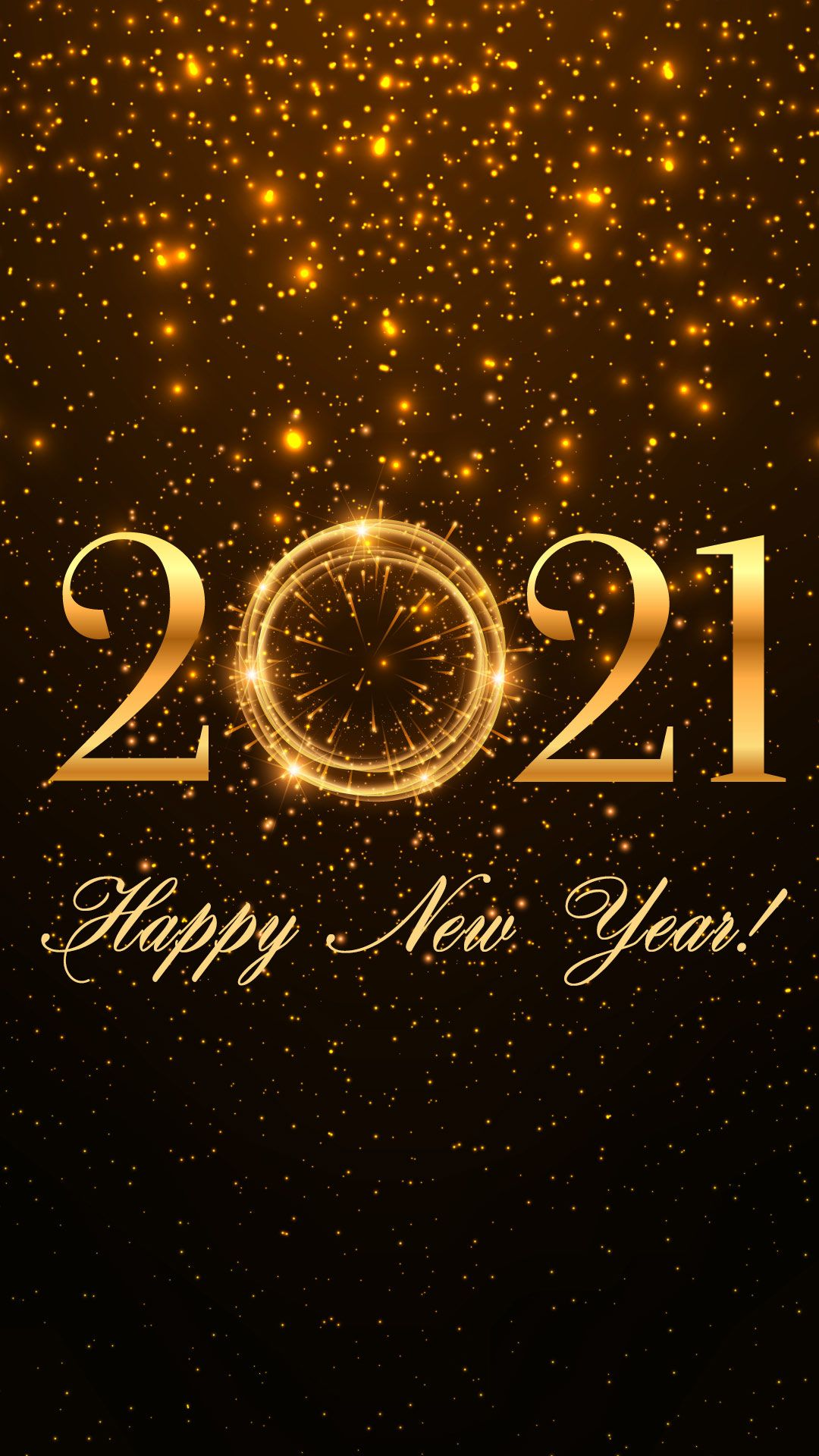 Happy New Year 2021 in 2020 Happy new year fireworks