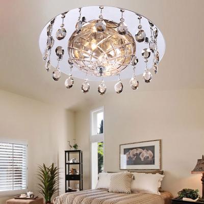 Creative Fashion Crystal Glass Study Room Ceiling Lamp Dining Room Ceiling Lamp Bedroom Ceiling Lamp