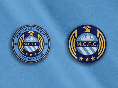 Manchester City Crest Concept Manchester City Logo Man City Crest Manchester City Football Club