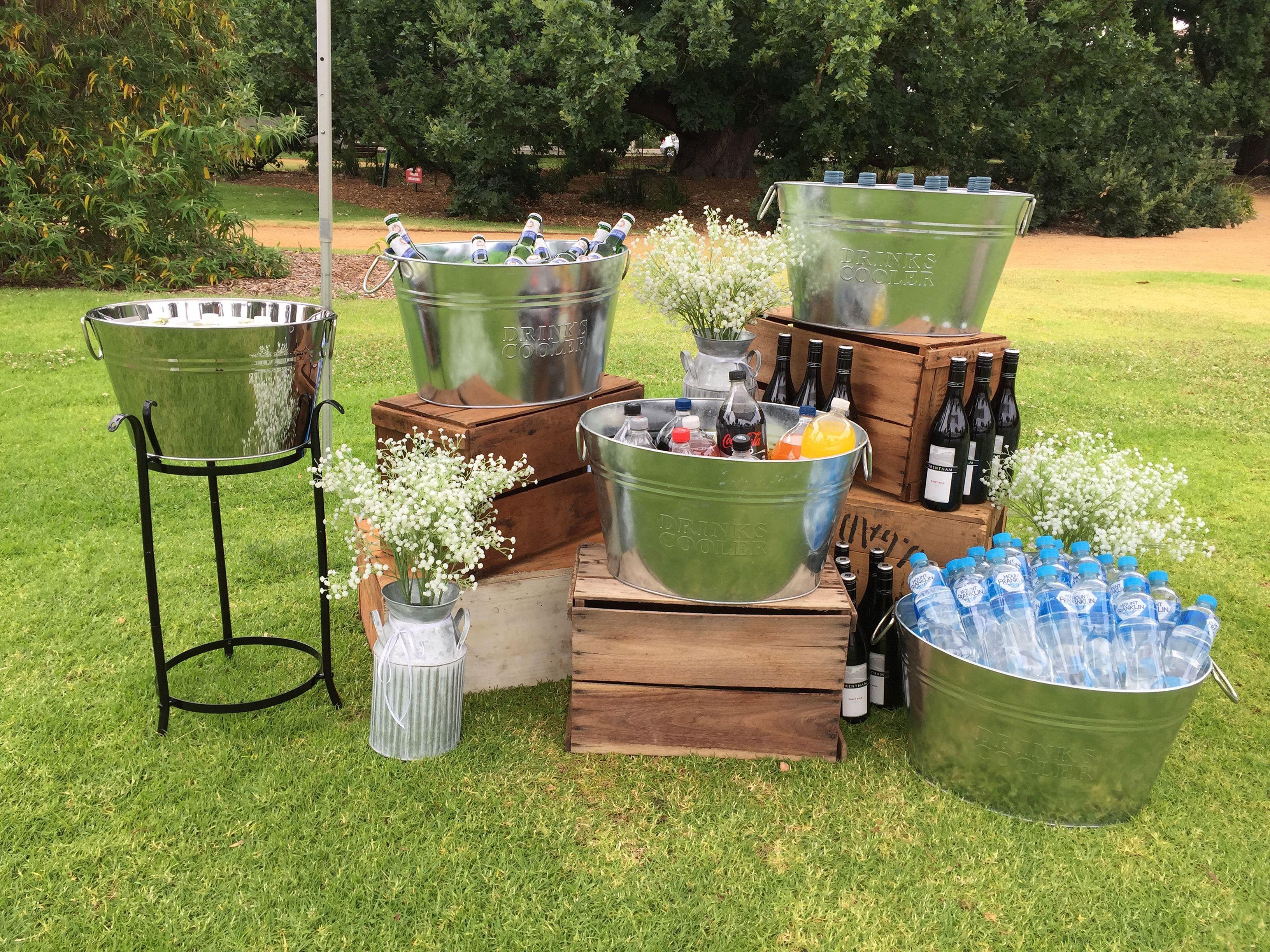 Top 5 Rustic Backyard Wedding Party Decor Ideas Outdoor Drink