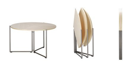Genial Inventor Of The Blow Molded Table Renovates On The Folding Tables Again