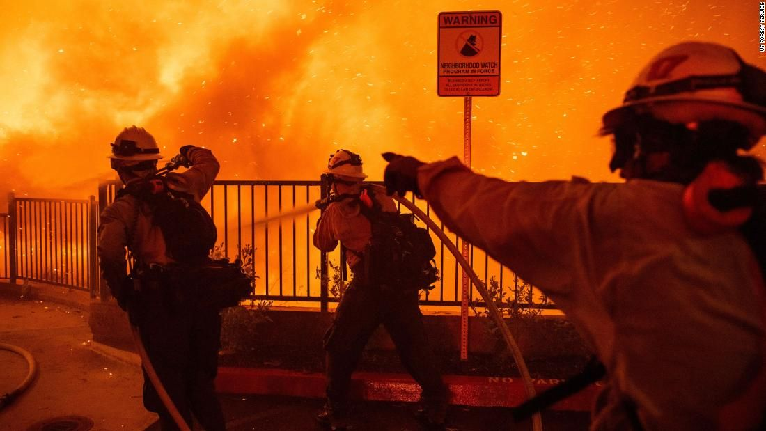 California firefighters are heading to australia to battle