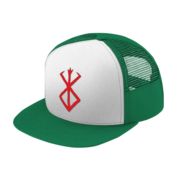 Berserk Red SymBol Trucker Snapback - PF00340TH