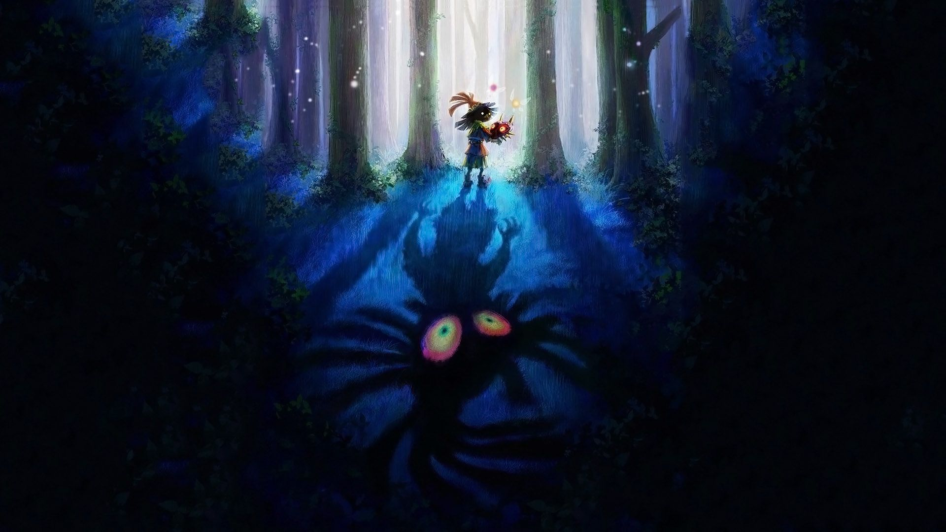 Cool Majoras Mask Zelda Wallpaper Skull Kid