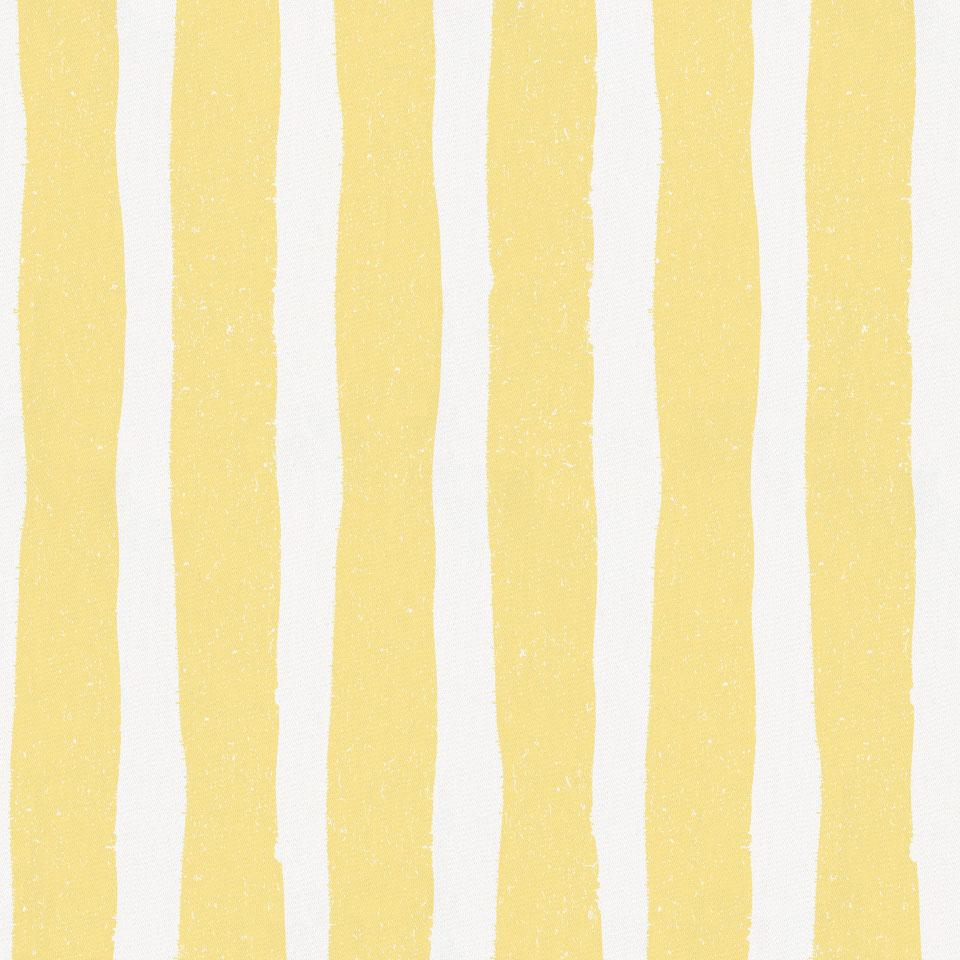 Banana Yellow Weathered Stripe Fabric by the Yard
