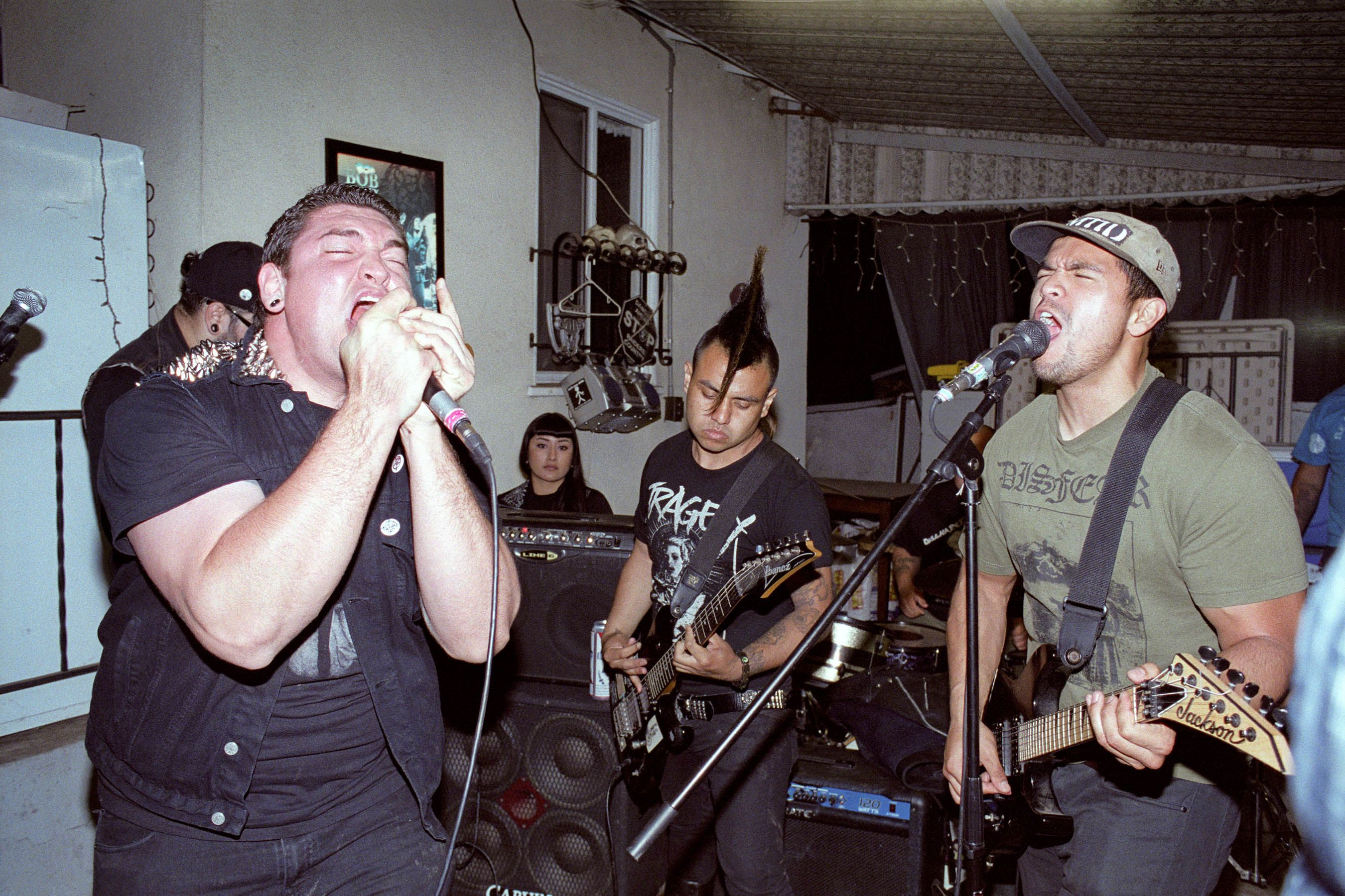 'Los Punks: We Are All We Have' dives deep into East LA and South Central's mosh pits to give us an intimate look at the overwhelmingly Latino punk scene.