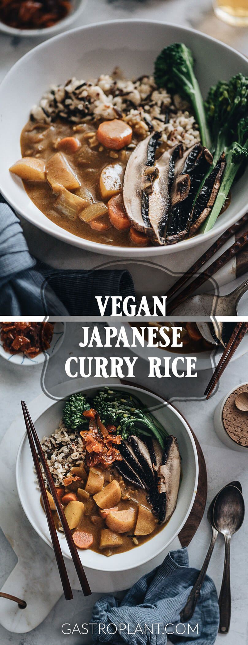 Vegan Japanese Curry Is A Plant Based Take On One Of The Most Popular Dishes In Japan This Curry Is A Vegan Japanese Vegan Japanese Food Easy Japanese Recipes