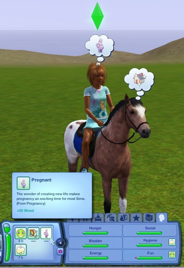 how to tell if pet is pregnant in sims 4