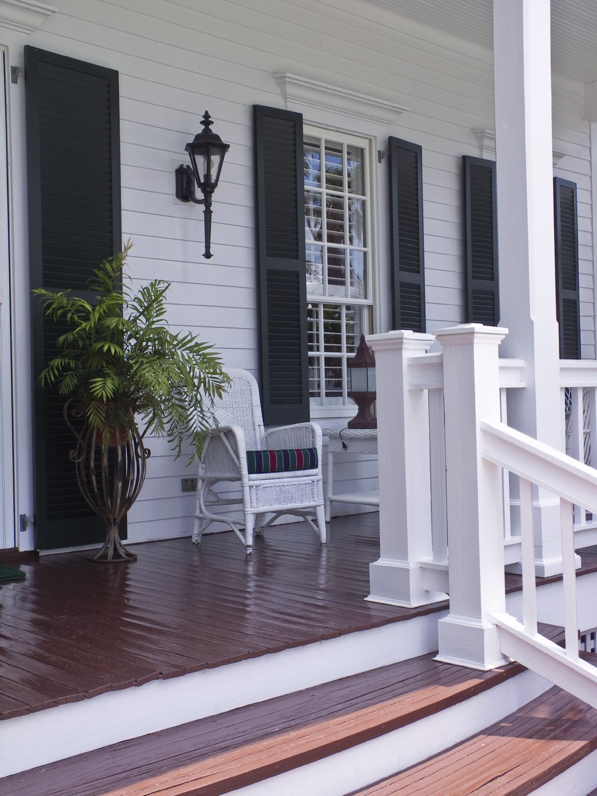 Front Steps Railing Home Design Ideas Pictures Remodel And Decor: 40 Front Porch Ideas For 2019 (Pictures)