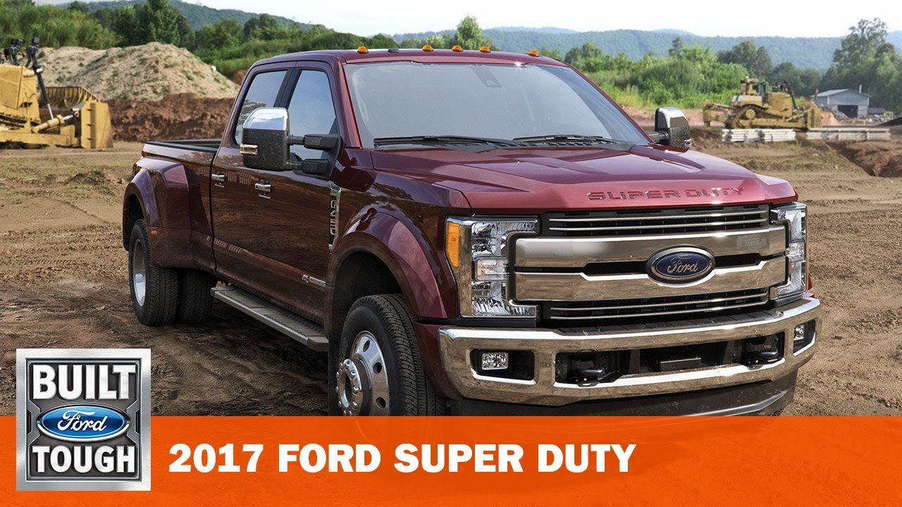 Introducing the all new 2017 ford super duty