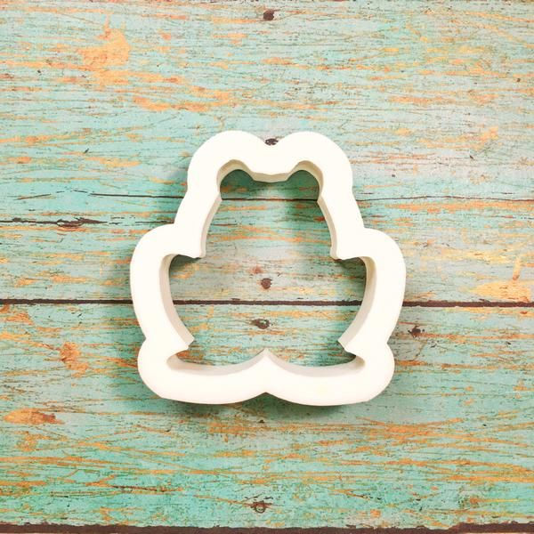 Sitting Frog Cookie Cutter! It's the perfect addition to your spring cookie…