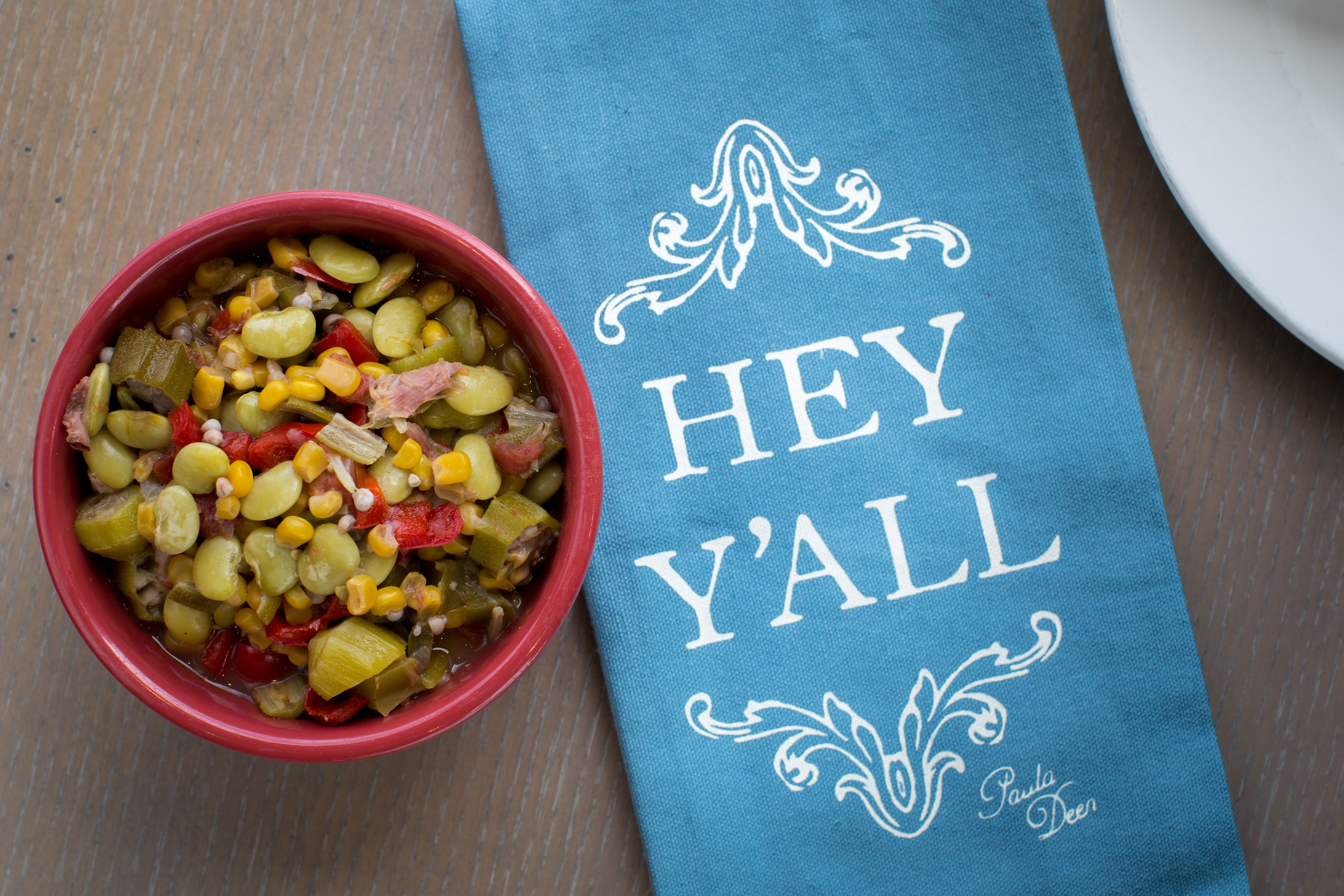 Succotash from Paula Deen\'s Family Kitchen | vegetables | Pinterest ...