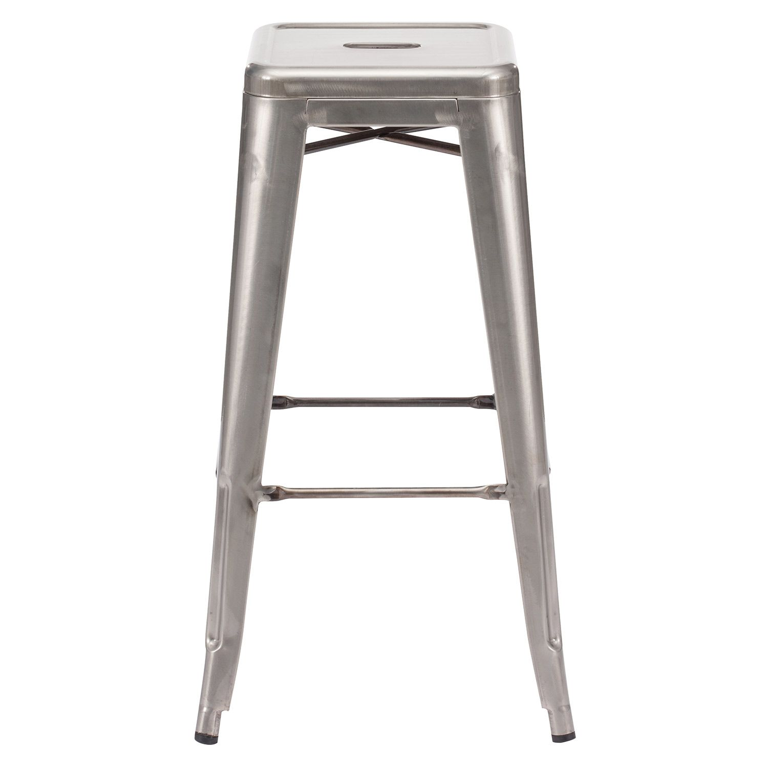 Marius Bar Chair Set of 4 Zinc Door seating barstool