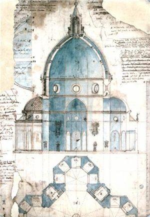 Cubiertas arquitectnicas la cpula  La cupula Dibujos del y