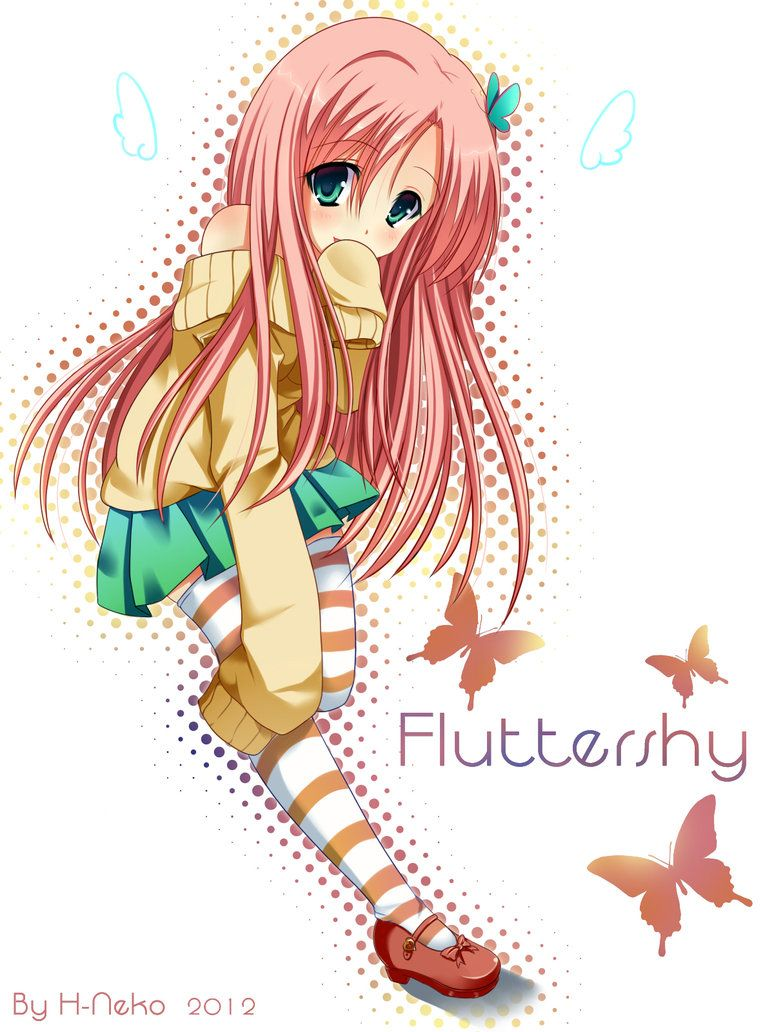 Human Fluttershy Gonna cosplay her for May MCM Expo in