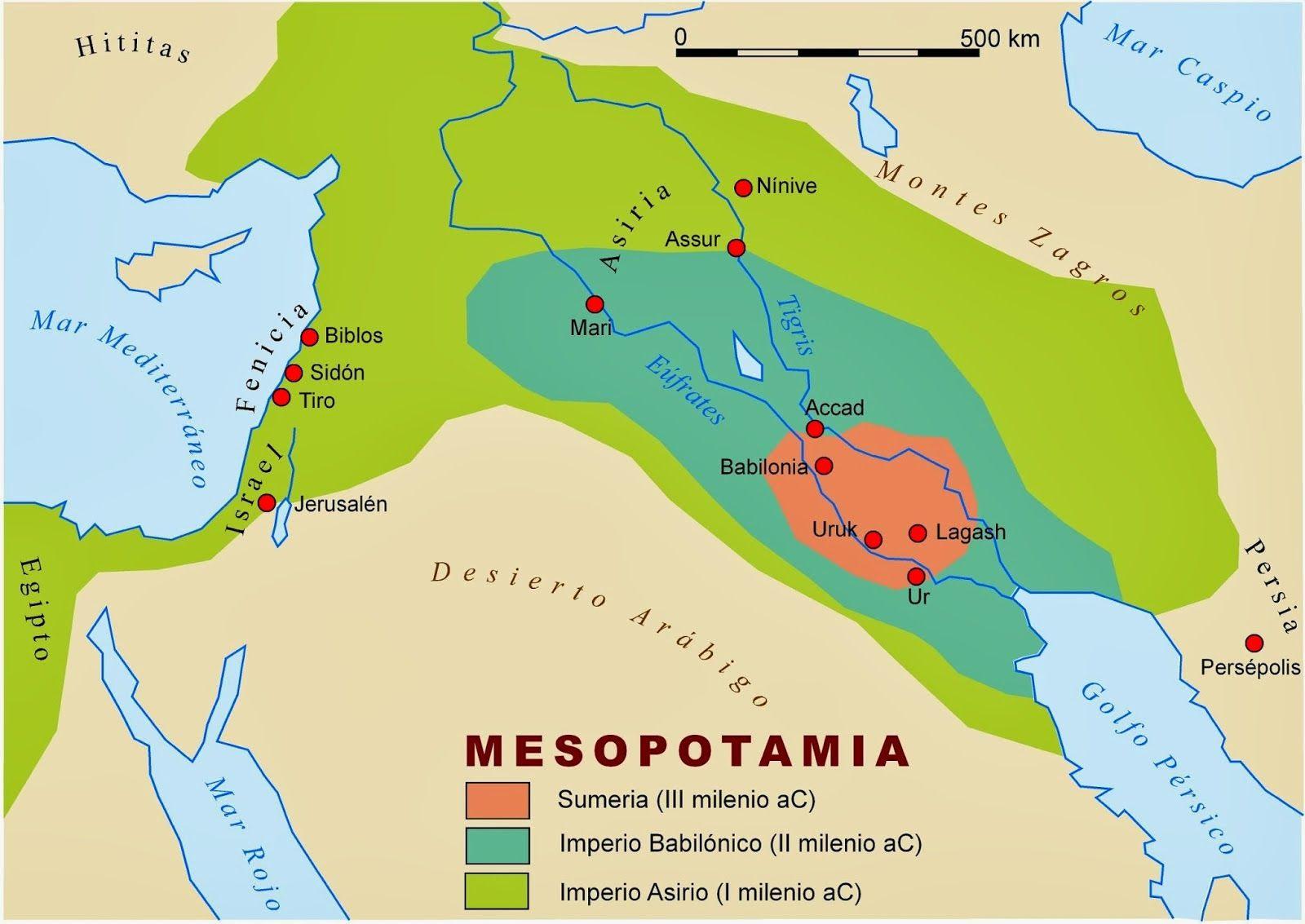 mapa conceptual para 1º eso de mesopotamia - Buscar con Google