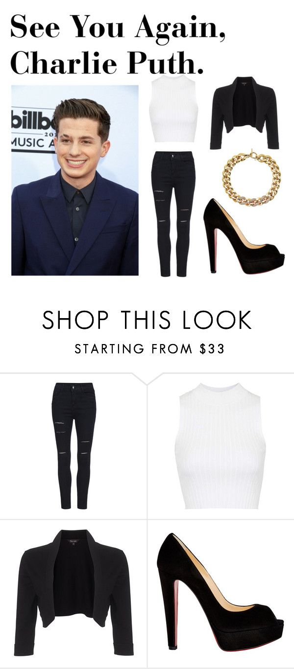 """""""Song Of The Day!!"""" by toni-laver ❤ liked on Polyvore featuring Topshop, Phase Eight, Christian Louboutin and Michael Kors"""