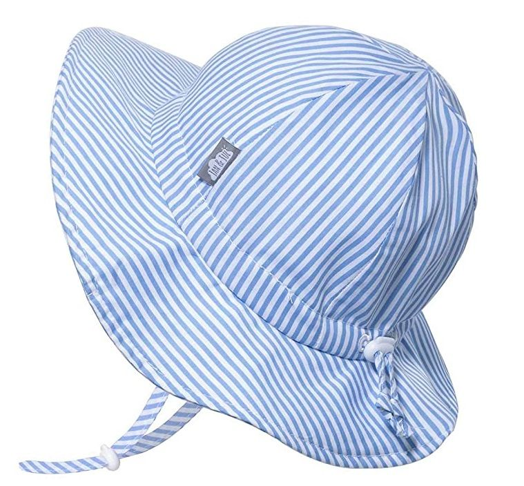 for Baby and Toddler Adjustable Straps 50+UPF Jan /& Jul Kids Cotton Bucket Sun-Hat Girl or Boy