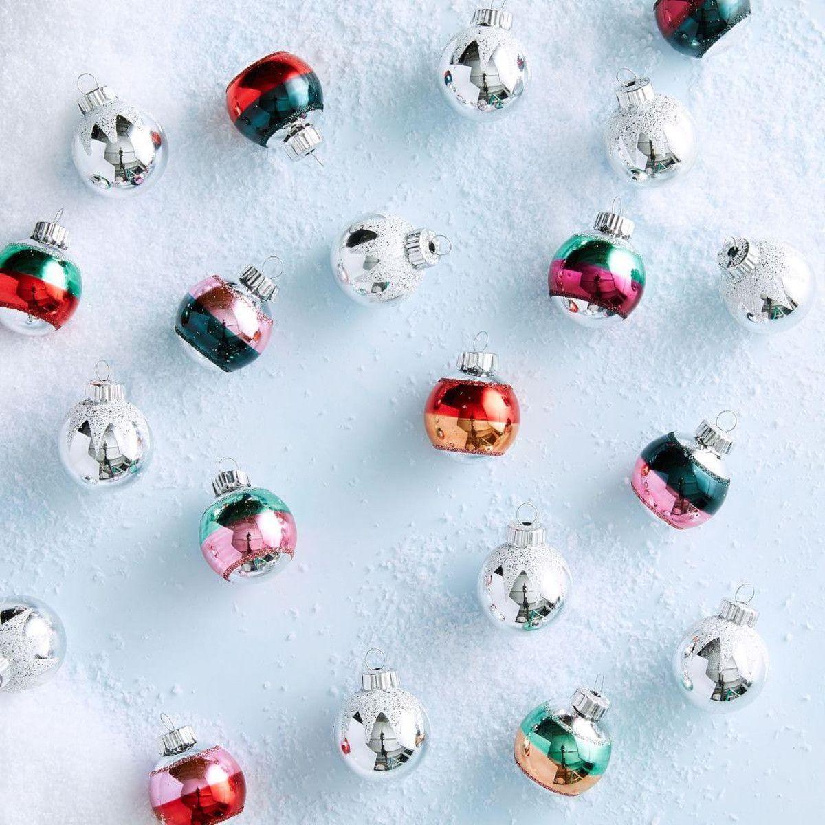 ShinyBrite™ Ball Ornaments (Set of 20) west elm UK