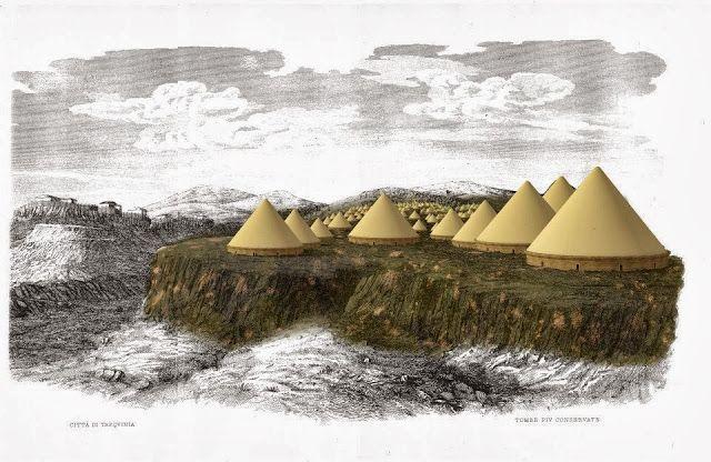 Plus d'information sur http://www.histoiredelantiquite.net/archeologie-romaine/le-tumulus-de-la-reine-tarquinia/
