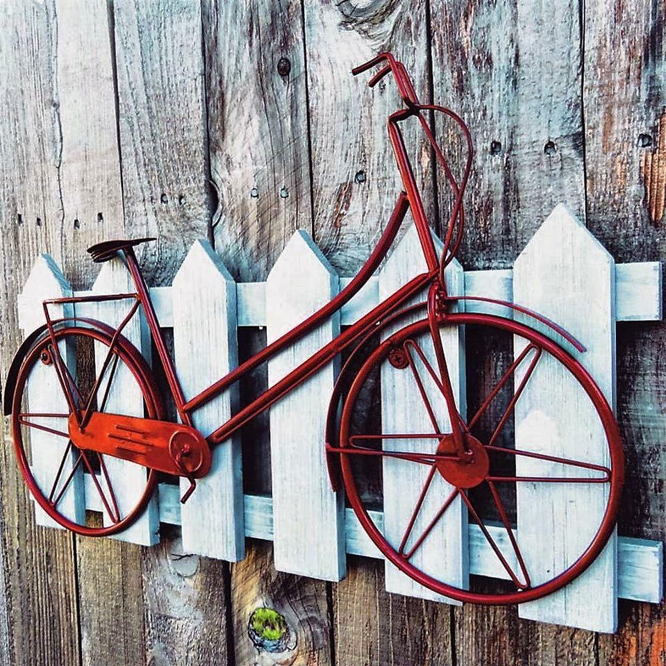 Bicycle Wall Art Wall Decor Beach Decor Coastal Decor Beach Bike Bicycle Decor Bike Art Metal Bicycle Wall Art Bicycle Decor Metal Wall Hangings