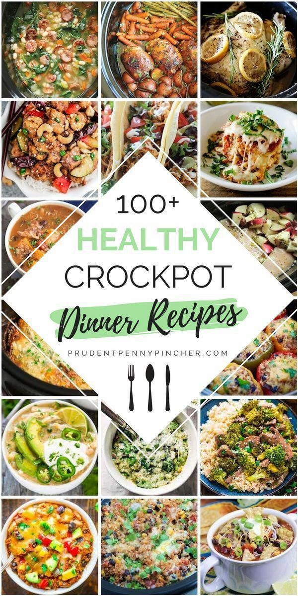 100 Healthy Dinner Crockpot Recipes