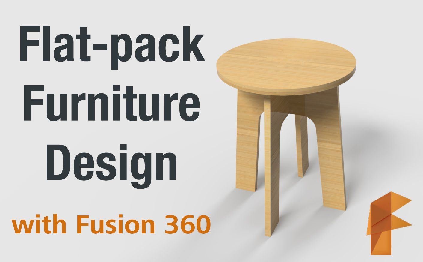 Flat pack furniture design fusion 360 pinterest for Flat pack muebles