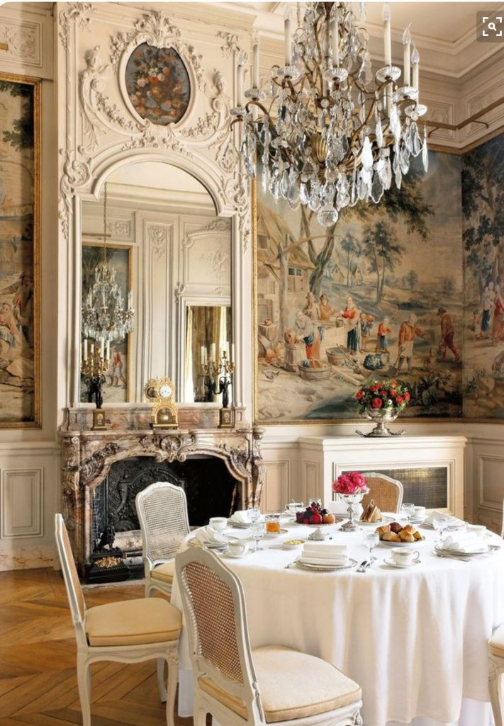 Image credit: Francis Hammond----Traditional French chateau home ...