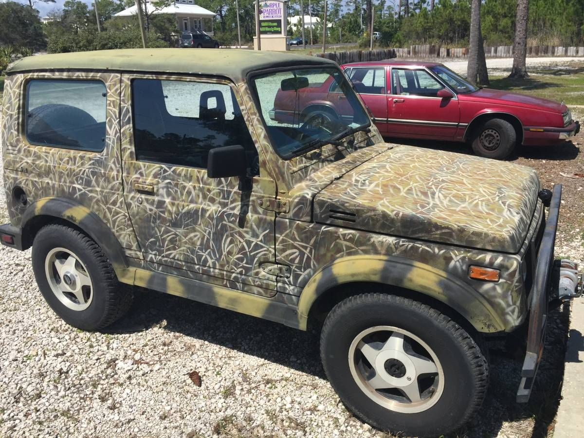 1987 Suzuki Samurai Hardtop 5 Speed For Sale In Pensacola Fl
