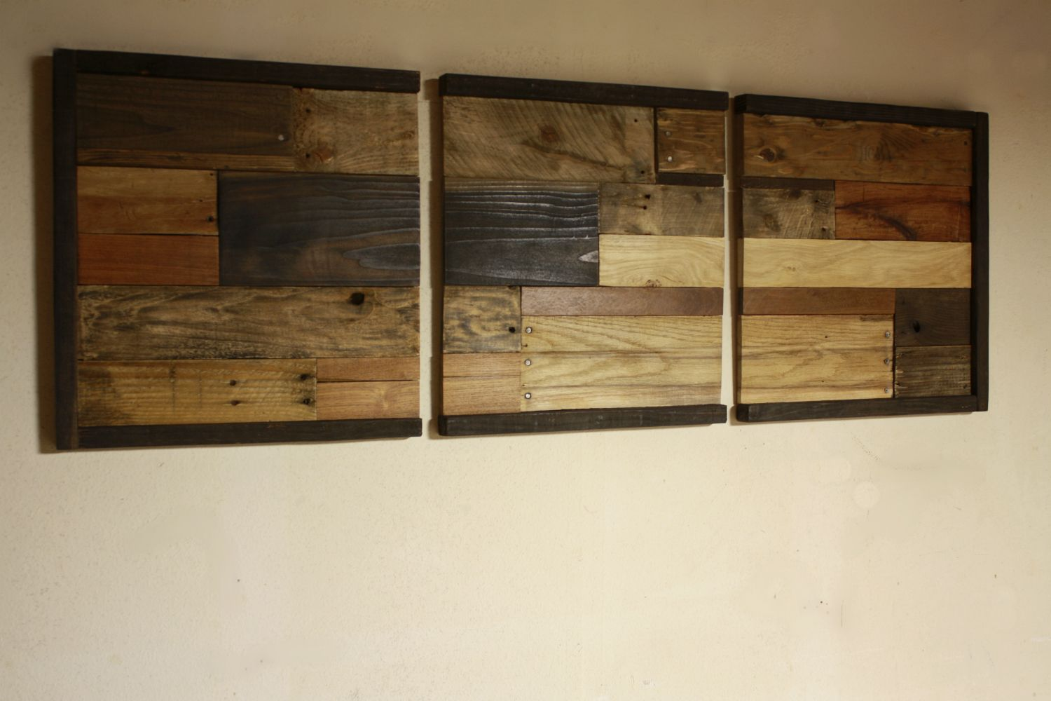Reclaimed Wood Wall Art Shabby Chic Rustic