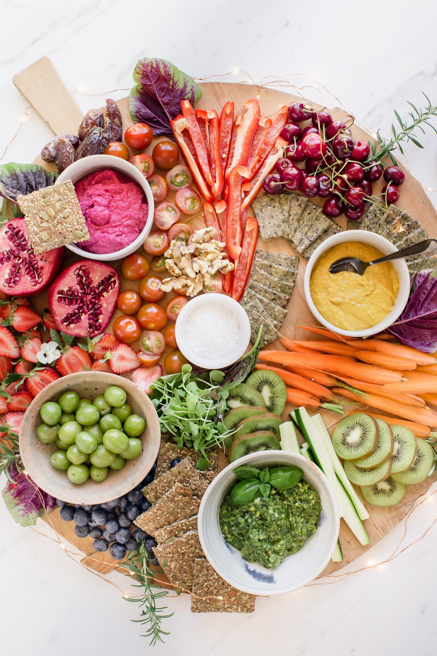 Healthy plantbased christmas menu 2017 vegan party food