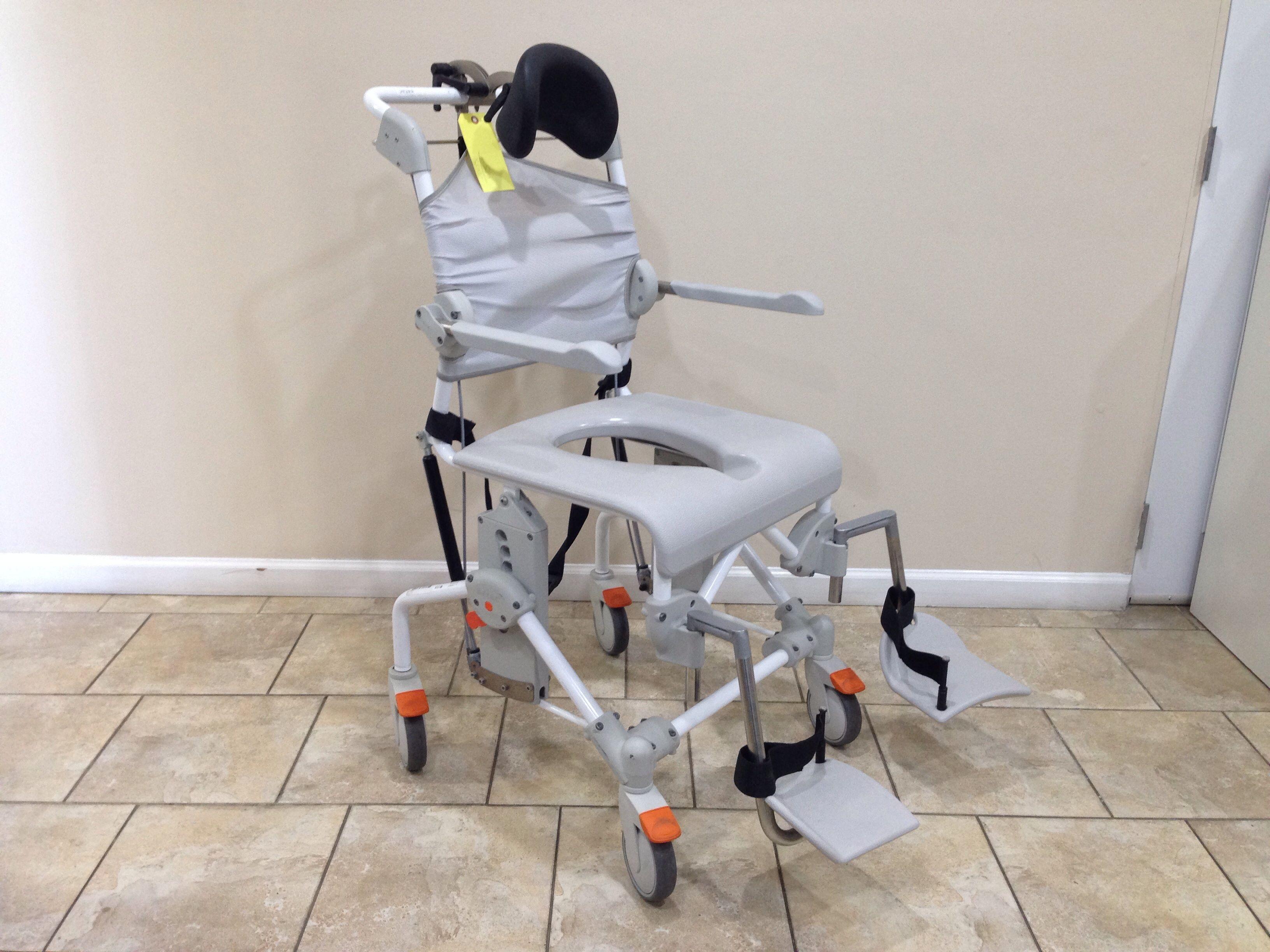 Etac Swift Shower Chair Mobile Tilt Shower Commode (Used
