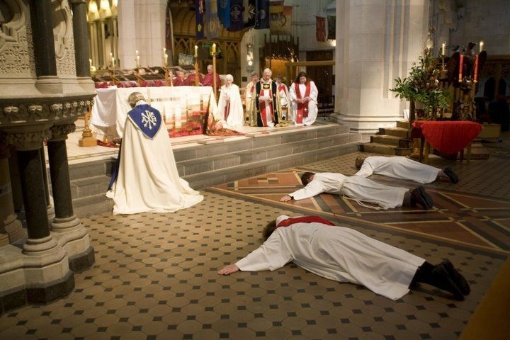 Adaptation And Change When A Priest Goes Through His Teaching To Become What He Wants They Have To Lay Down On The Floor Holy Priest Catholic Online Catholic