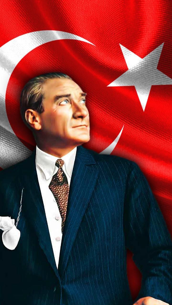 Download Ataturk Duvar Kagidi wallpaper by msttncy now. Brow