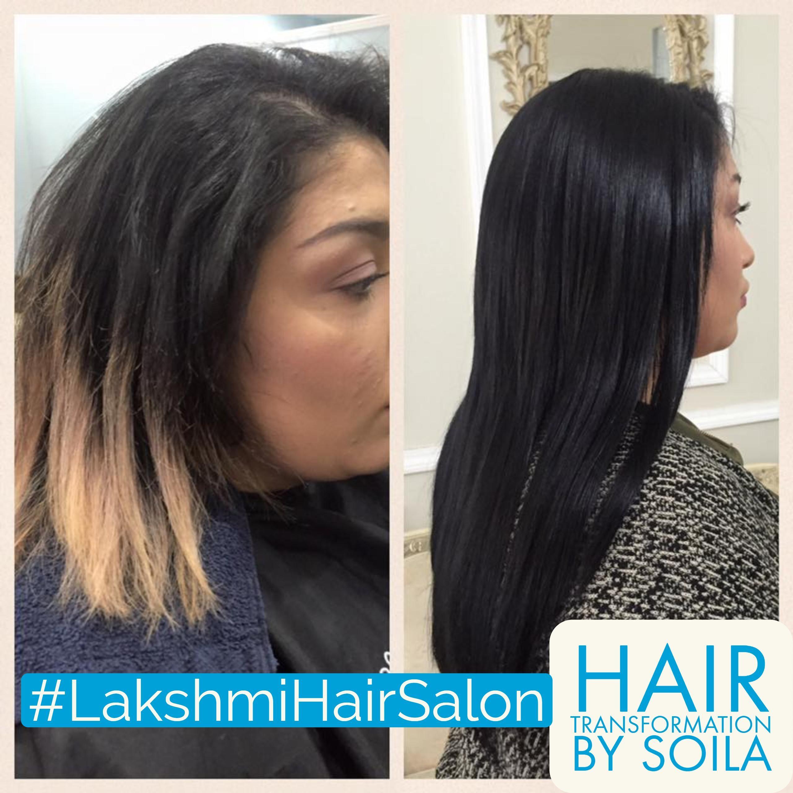 Hair Extensions By Soila At Lakshmi Hair Salon Artist Styling