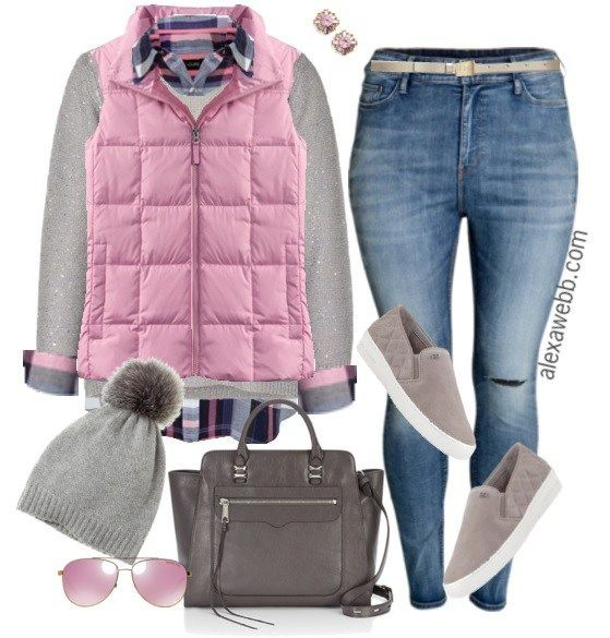 Plus Size Casual Outfit - Plus Size Fashion for Women - Alexa Webb - alexawebb.com #alexawebb #plus #size