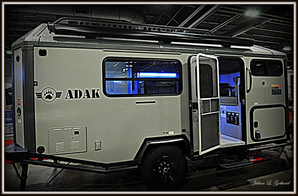ADAK Overlanding Trailer At The 2014 Colorado RV Adventure Travel