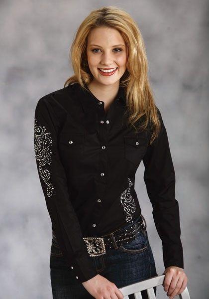 7826124edb Sexy Sparkle   Women s Show Shirt. this particular shirt is found on AJ s Western  Wear