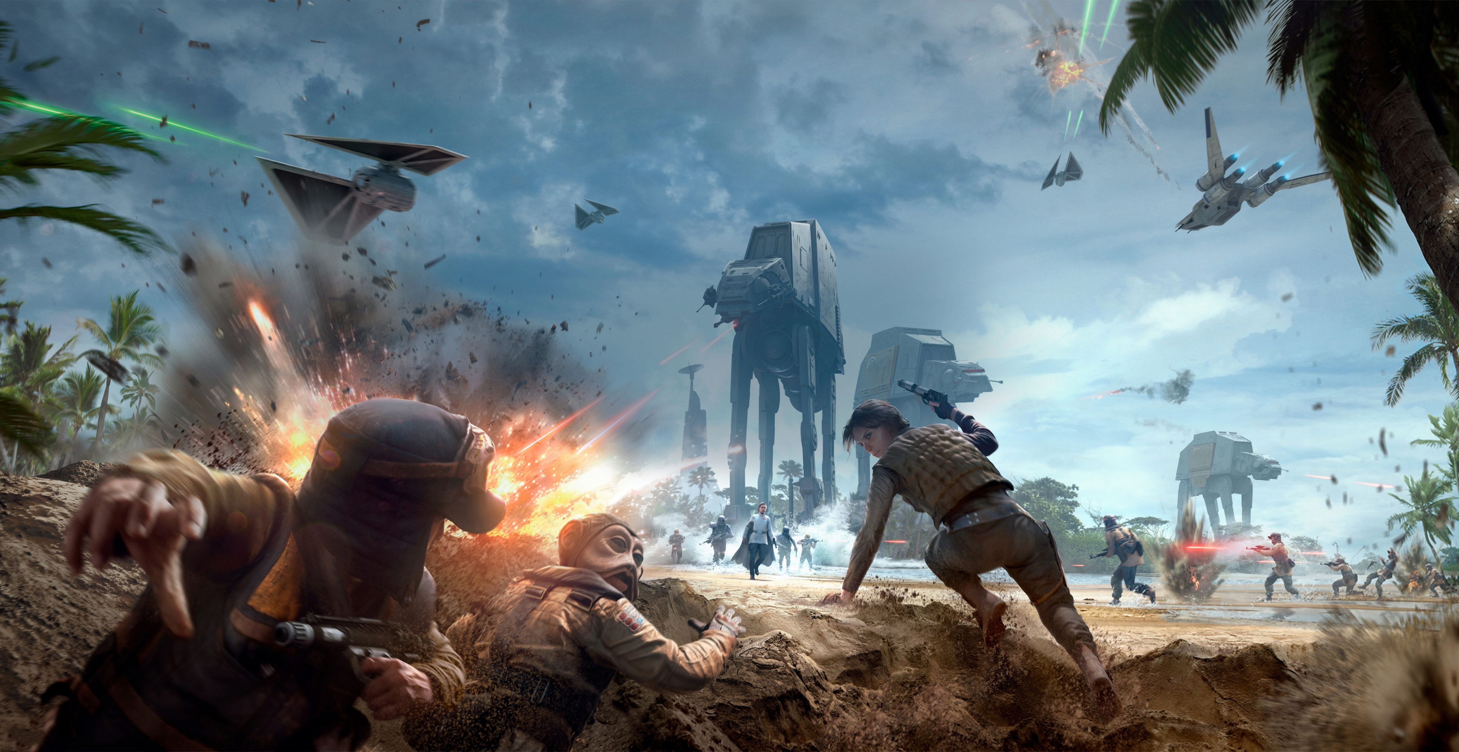Rogue One Star Wars Battlefront Star Wars Video Games Battlefront