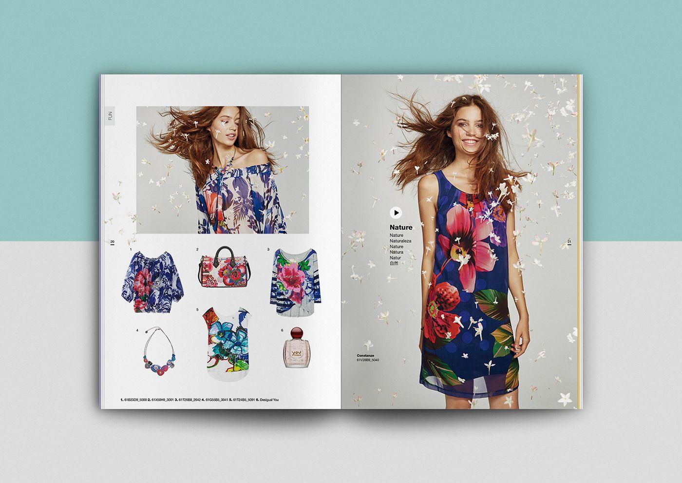 professioneller Verkauf limitierte Anzahl noch eine Chance Spring Summer catalogue for Desigual. | Catalogue in 2019 ...