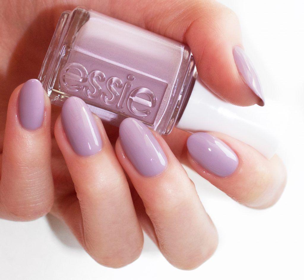 essie resort 2017 ciao effect\' a lavender purple with a pretty blue ...