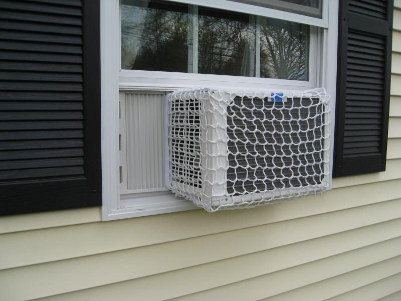 Air Conditioner Safety Net Never Worry About Installing