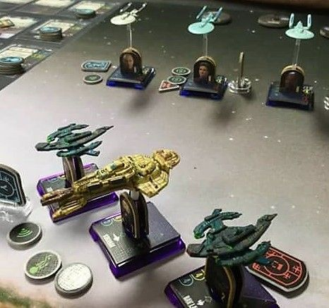 Star Trek Attack Wing Dominion Fleet C Dustin Gross Star Trek