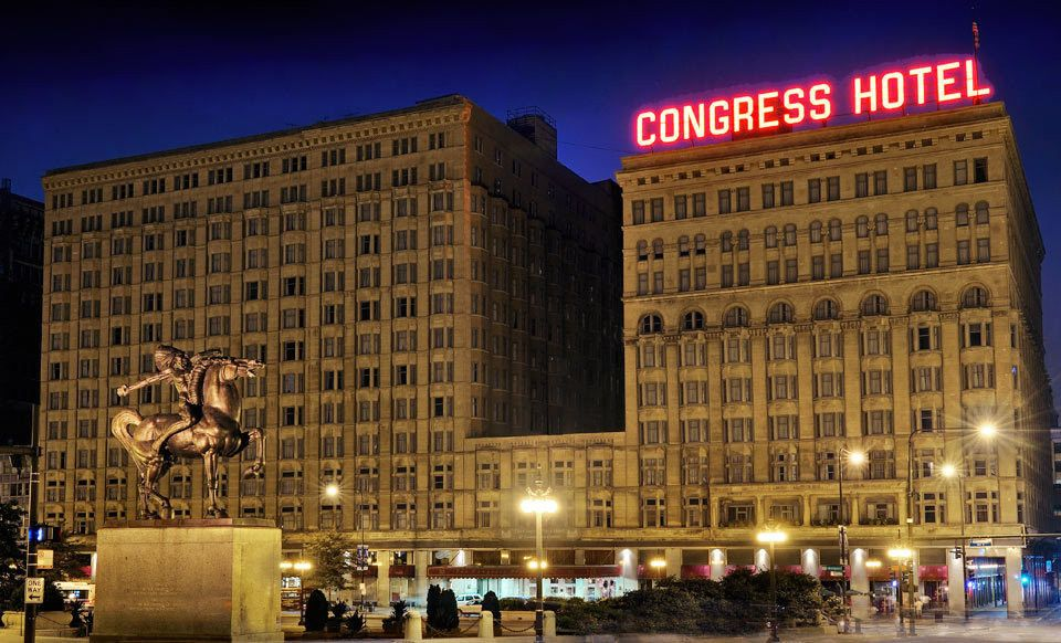 Groupon Stay At The Congress Plaza Hotel In Chicago Deal Price 59 00