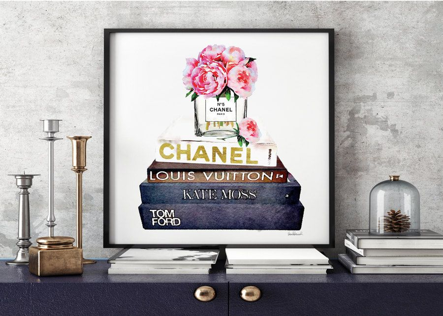 Square Print Fashion Books Chanel Coco Chanel Kate