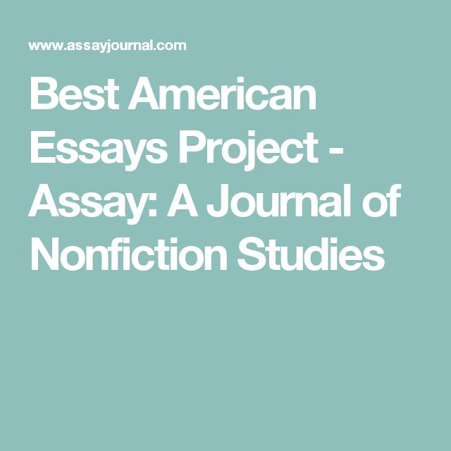 Best American Essay Project Good Ap Language Essays