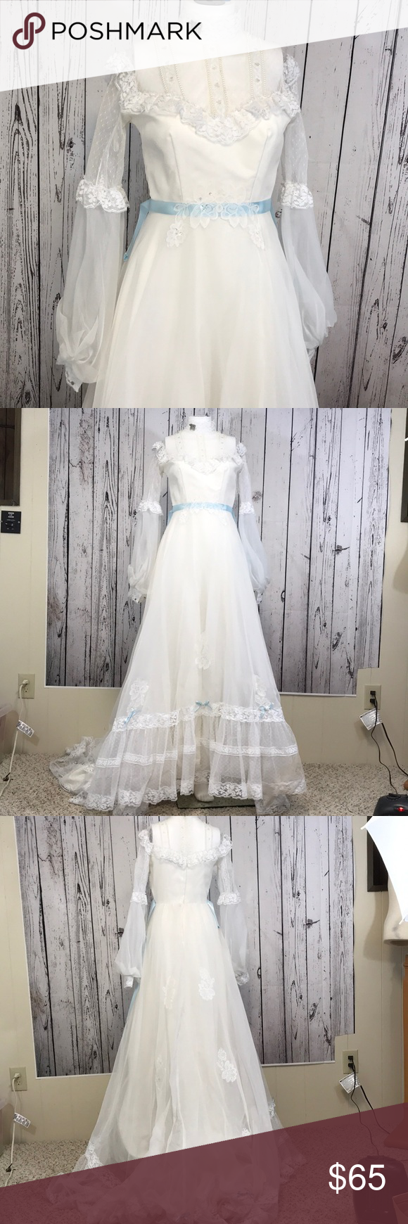 Vintage us boho wedding dress